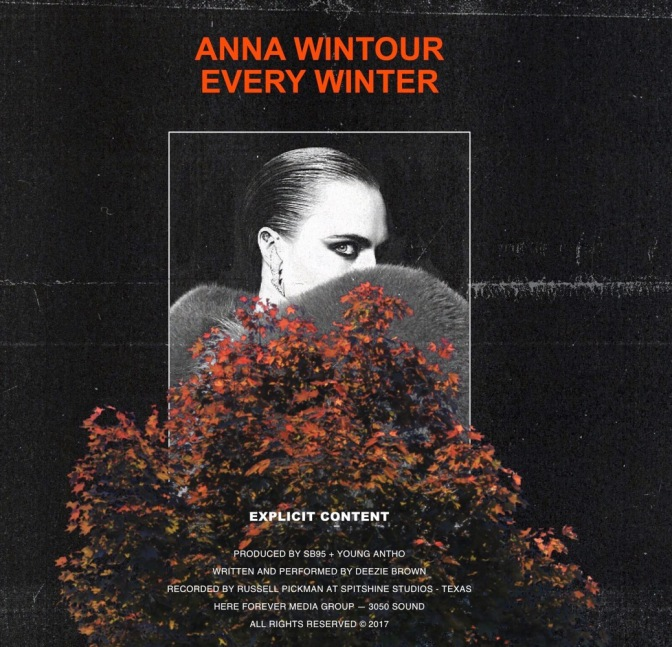 Deezie Brown – Anna Wintour Every Winter