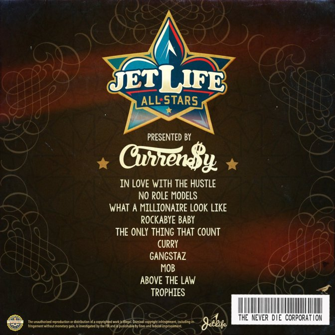 "Curren$y Spitta Presents ""Jet Life ALLSTARS"""