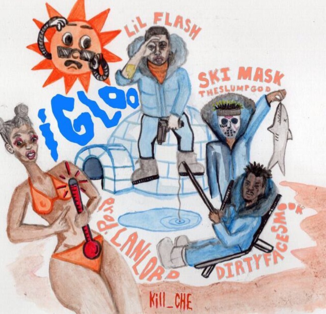 Ski Mask the Slump God, Lil Flash, DirtyFaceSmook – iGLOo