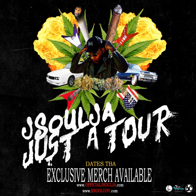 "JSoulja has been heating up the streets on his ""Just A Tour"" stops"