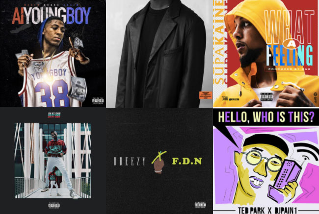 This weeks 4thFloorRadio playlist features Trae Cane, Rarri, HoodRich Pablo Juan, Supakaine + more