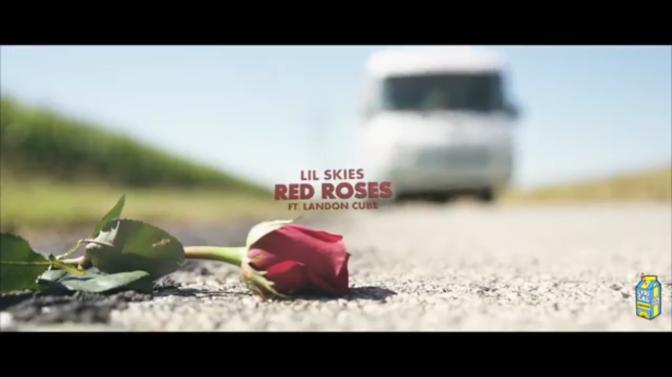 Lil Skies f. Landon Cube – Red Roses (Visual)