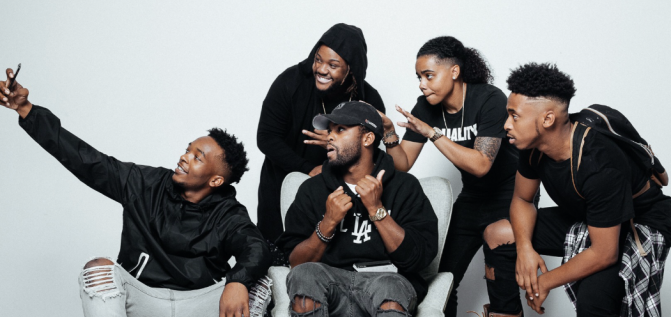 Young Hustle's team is full of talent, and their debut tape proves it