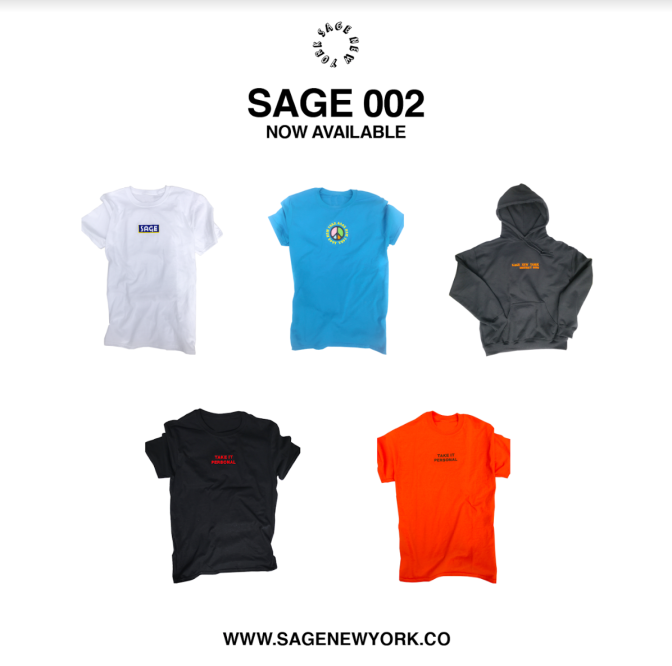 Clothing Line .@SAGENewYork levels up with new merchandise